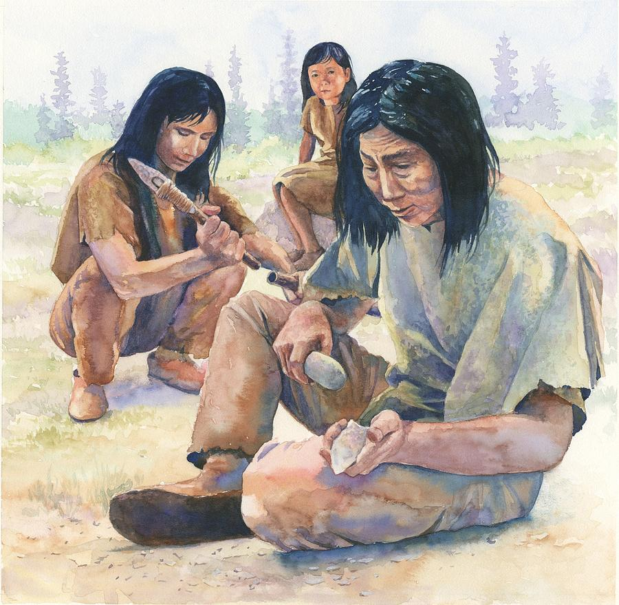paleo-indian-tool-making-rob-wood