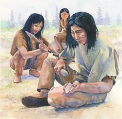 paleo-indian-tool-making-rob-wood