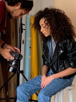 Kira Natural Curls Photoshoot