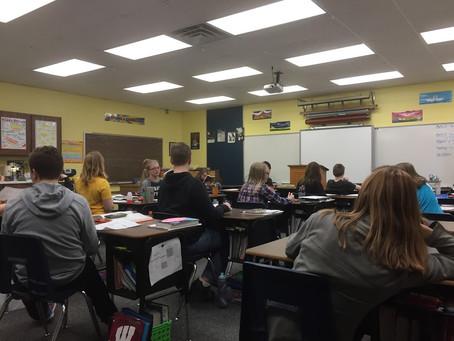 アメリカツアー  高校と小学校訪問