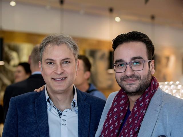 with Italian pianist Igor Roma