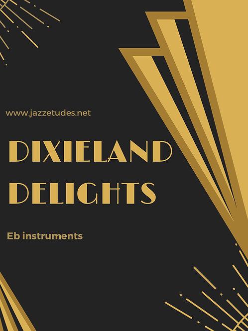 Dixieland delights - 10 jazz etudes - Eb instruments