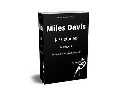12 Miles Davis jazz etudes