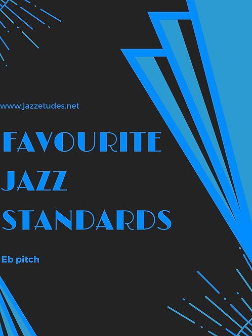 Favourite jazz standards - Eb pitch