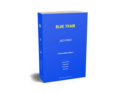 Blue Train - jazz etudes