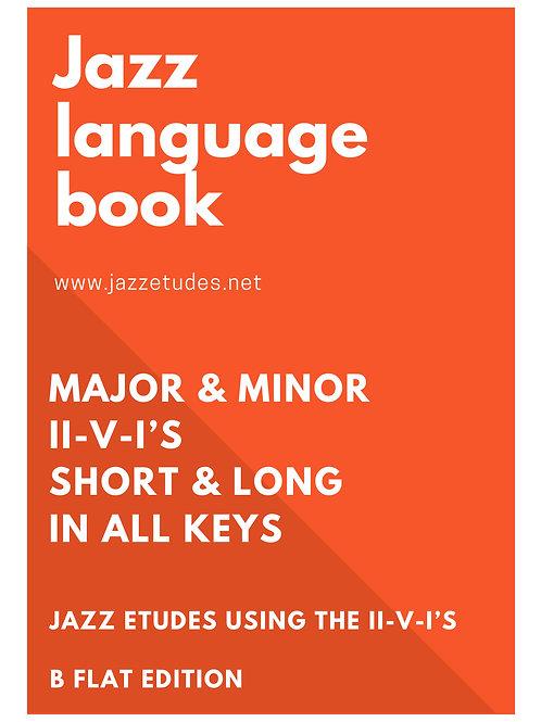 Jazz language book - Bb edition