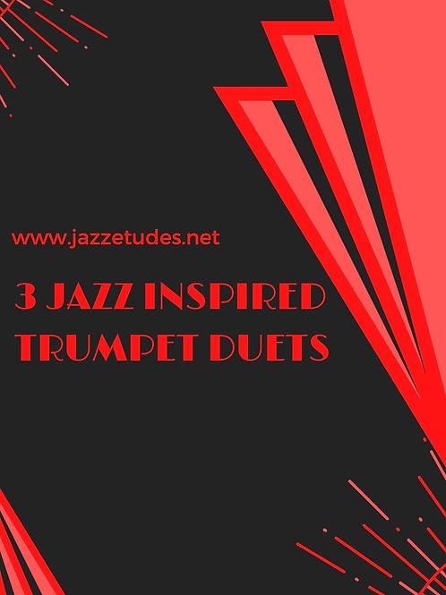3 jazz inspired trumpet duets