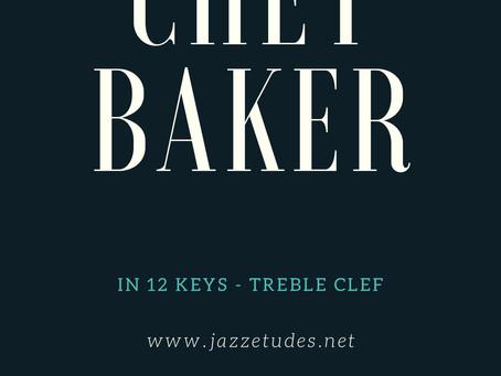 Chet Baker II-V-I licks in major and minor keys
