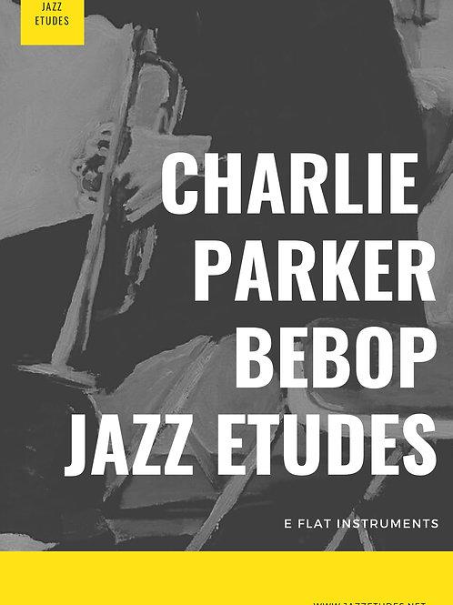 Charlie Parker bebop etudes Eb