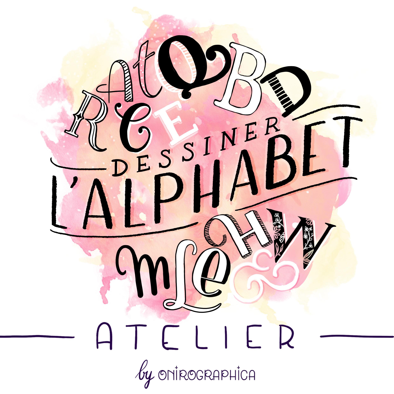Dessiner l'alphabet
