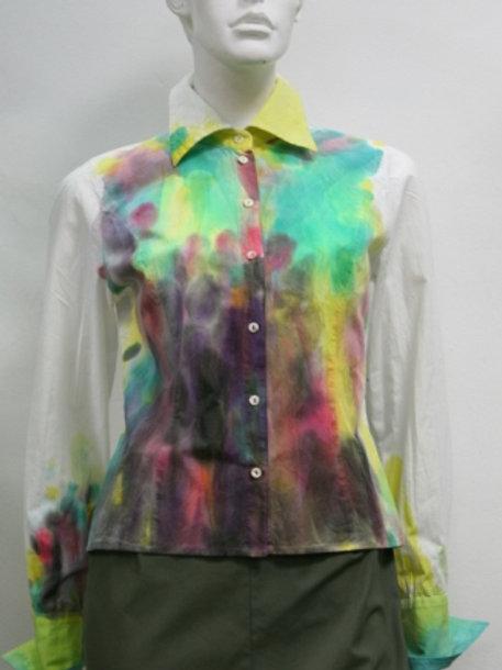 Блузка с авторской росписью