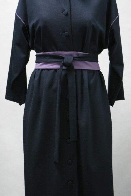 Платье с застежкой на пуговицах