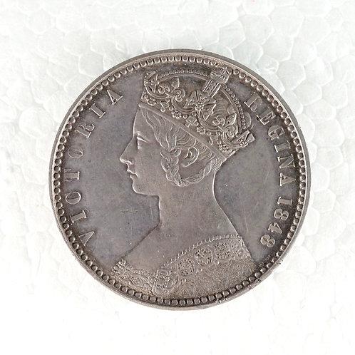 イギリス フローリン銀貨