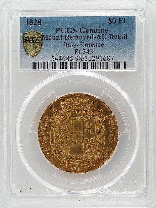 イタリア 80フローリン金貨