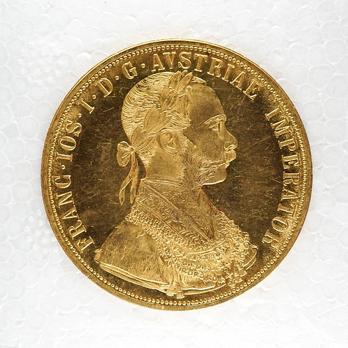 オーストリア4ダカット金貨 1915