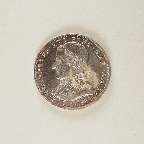 イタリア 30バイオッキ銀貨