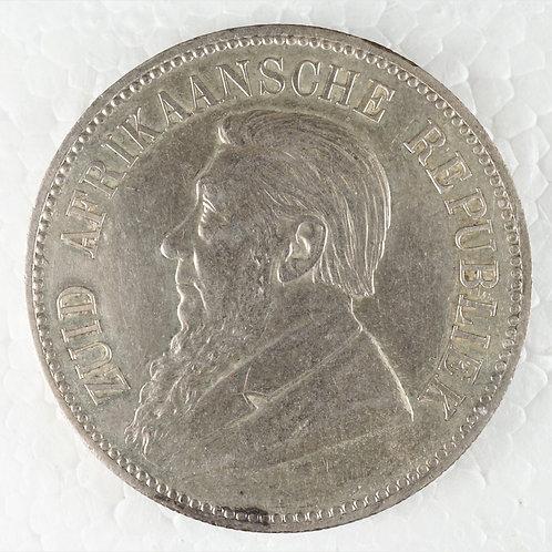 南アフリカ 5シリング銀貨