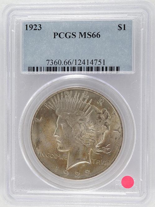 アメリカ 1ドル銀貨 1923