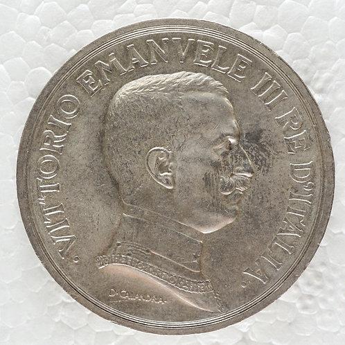イタリア 5リラ銀貨