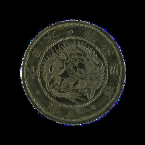 旧5円金貨 明治3年 明瞭ウロコ