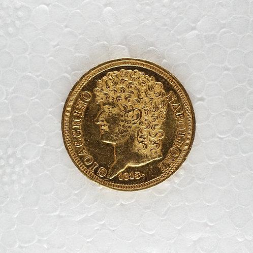 イタリア20リラ金貨 1813