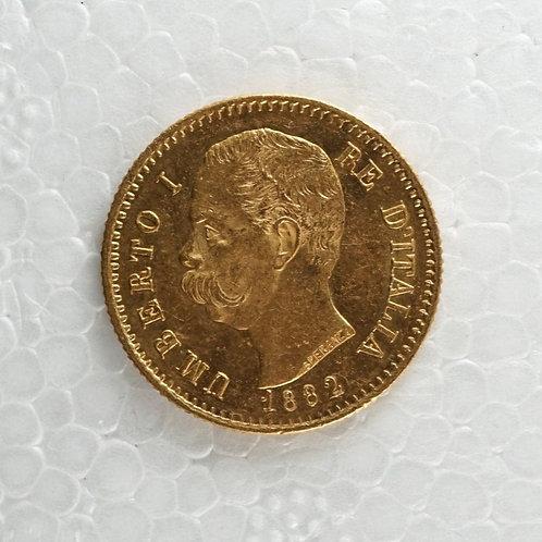 イタリア 20リラ金貨