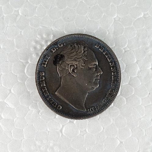 イギリス 6ペンス銀貨