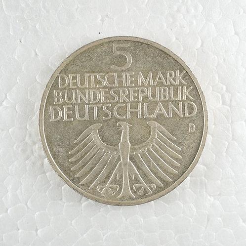 ドイツ 5マルク銀貨