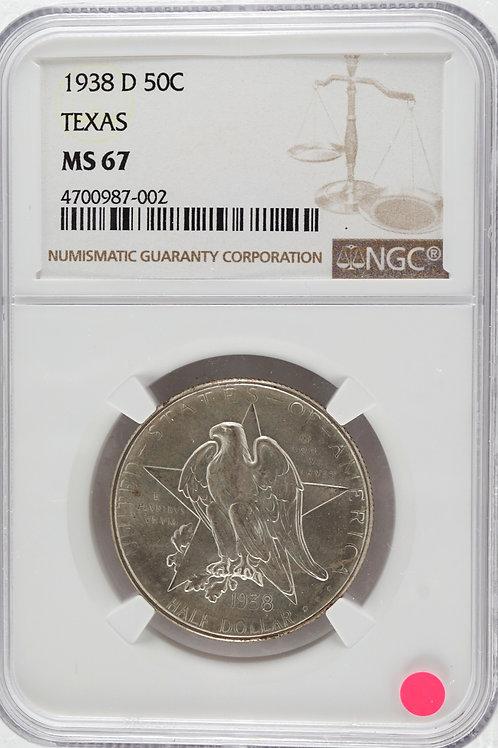 アメリカ 1/2ドル銀貨 1938