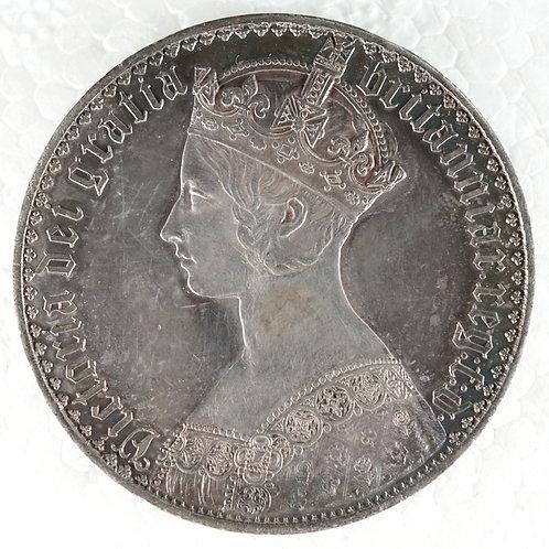 イギリス クラウン銀貨