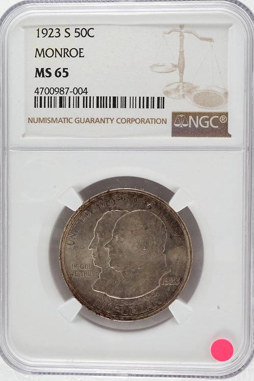 アメリカ 1/2ドル銀貨 1923
