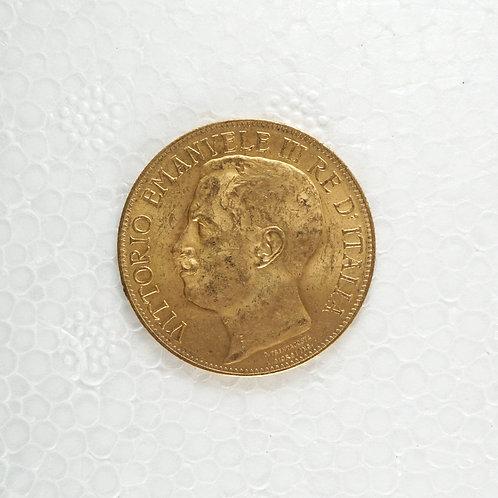イタリア統一大国50周年記念硬貨セット(ケース付)