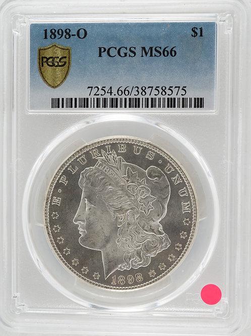 アメリカ 1ドル銀貨 1898