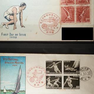 日本切手初日カバー