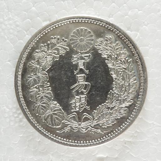 高稀少性×江戸最後の彫金師が手掛けた貿易銀