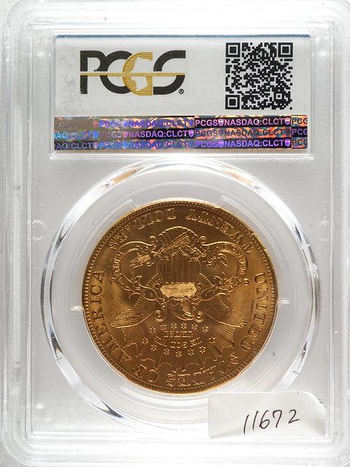 アメリカ20ドル金貨 1904