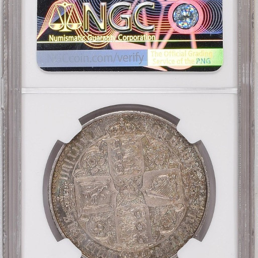 世界一美しい銀貨 ゴシッククラウン銀貨