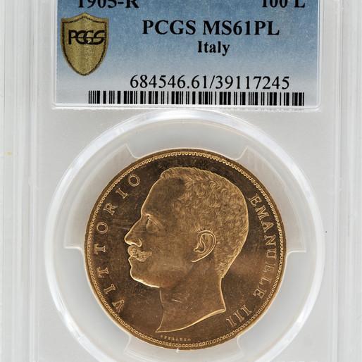 コイン収集家として知られるヴィットリヨ・エマヌエレⅢと彼の造ったコイン