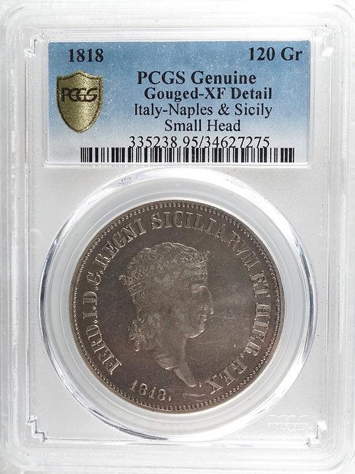 イタリア 120グラナ銀貨