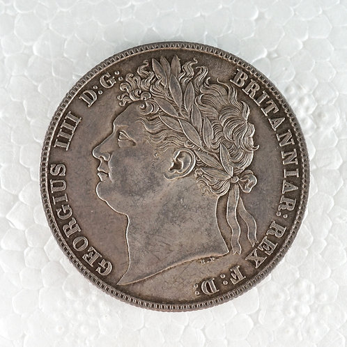 イギリス 1/2クラウン銀貨