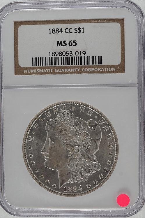 アメリカ 1ドル銀貨 1884