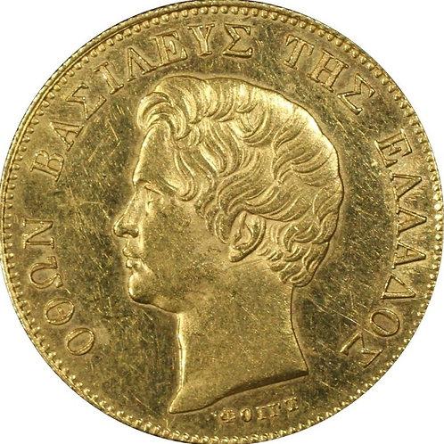 ギリシア 20ドラクマ金貨