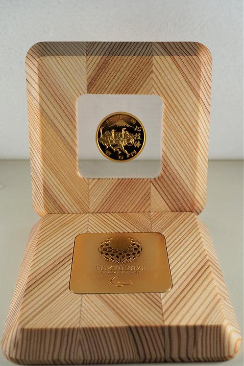 東京2020パラリンピック競技大会記念一万円金貨