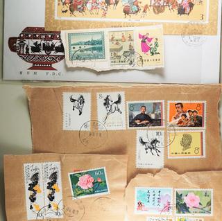 使用済み中国切手