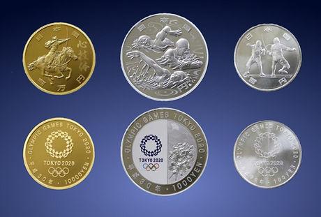 オリンピック硬貨3種.JPG