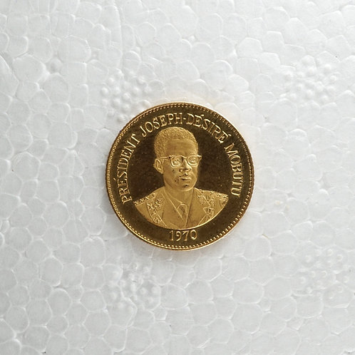 コンゴ民主共和国 10センギ金貨