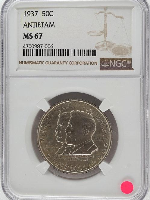 アメリカ 1/2ドル銀貨 1937