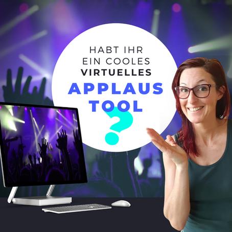 Virtueller Applaus - wie geht das?