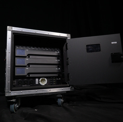 D&B D80 AMP RACK