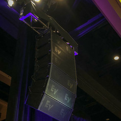 EV Line Array - Small Gala Setup